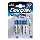 AAA Lithium Energizer Batterie Micro L92 1250 mAh - 4er Pack